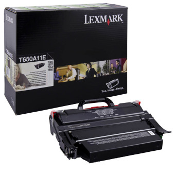 Originální toner Lexmark T650A11E (Černý)