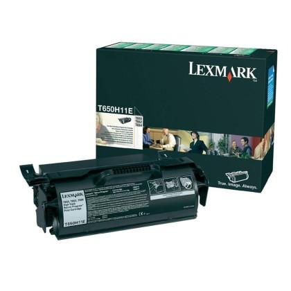 Originální toner Lexmark T650H11E (Černý)