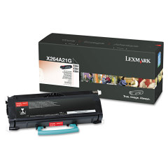 Toner do tiskárny Originální toner Lexmark X264A21G (Černý)