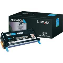 Toner do tiskárny Originální toner Lexmark X560A2CG (Azurový)
