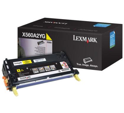 Originální toner Lexmark X560A2YG (Žlutý)