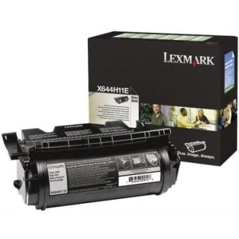 Originální toner Lexmark X644H11E (Černý)