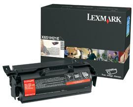 Originální toner Lexmark X651H21 (Černý)