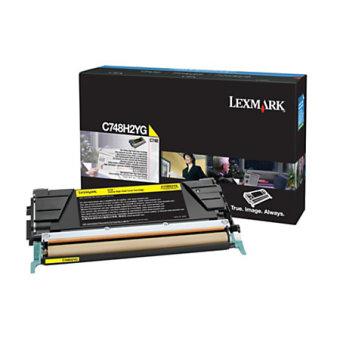 Originální toner Lexmark X748H2YG (Žlutý)