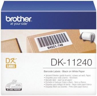 Originální etikety Brother DK-11240, papírové štítky, 102 x 51mm, 600ks