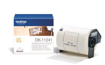 Originální etikety Brother DK-11241, bílé, velké poštovní štítky, 102 x 152mm, 200ks