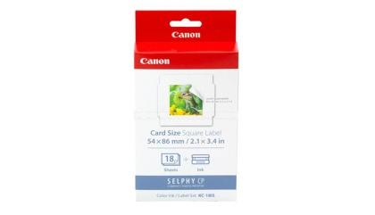 Etikety pro termosublimační tiskárny Canon 54x86mm, 18ks, nálepky (KC18IS)
