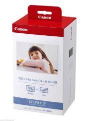 Fotopapír pro termosublimační tiskárny Canon 10x15cm, 108ks (KP108IN)