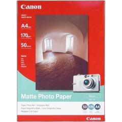 Fotopapír A4 Canon Matte, 50 listů, 170 g/m2, matný, bílý, inkoustový (MP-101)