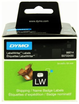 Originální etikety DYMO 99014 (S0722430), 101mm x 54mm, černý tisk na bílém podkladu, 220ks