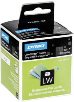 Originální etikety DYMO 99017 (S0722460), 50mm x 12mm, černý tisk na bílém podkladu, 220ks