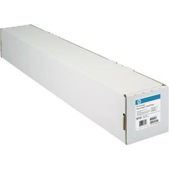 Role s fotopapírem HP Coated, 1067 mm x 47,5 m, 90 g/m2, pro inkoustové tiskárny, matný (C6567B)