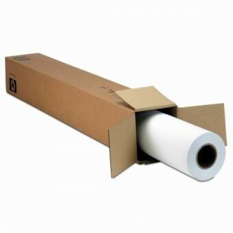Role s fotopapírem HP Coated, 1372 mm x 45,7 m, 90 g/m2, pro inkoustové tiskárny, matný (C6568B)