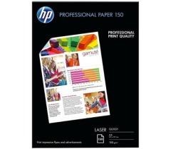 Fotopapír A4 HP Professional Glossy, 150 listů, 150 g/m2, lesklý, bílý, laserový (CG965A)