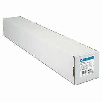 Role s fotopapírem HP Universal Bond, 1067 mm x 45,7 m, 80 g/m2, pro inkoustové tiskárny, matný (Q1398A)