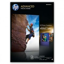 Fotopapír A4 HP Advanced Glossy, 25 listů, 250 g/m2, lesklý (Q5456A)