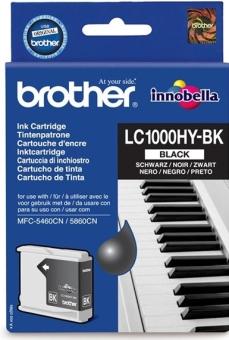 Originální cartridge Brother LC-1000HYBK (Černá)