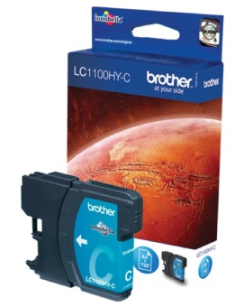 Originální cartridge Brother LC-1100HYC (Azurová)