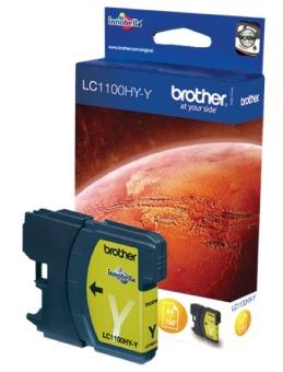 Originální cartridge Brother LC-1100HYY (Žlutá)