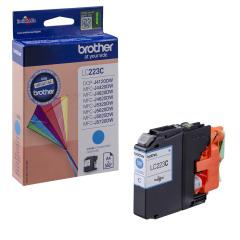 Cartridge do tiskárny Originální cartridge Brother LC-223C (Azurová)