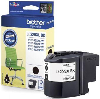 Originální cartridge Brother LC-229XLBK (Černá)