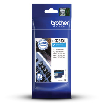 Originální cartridge Brother LC-3239XL C (Azurová)