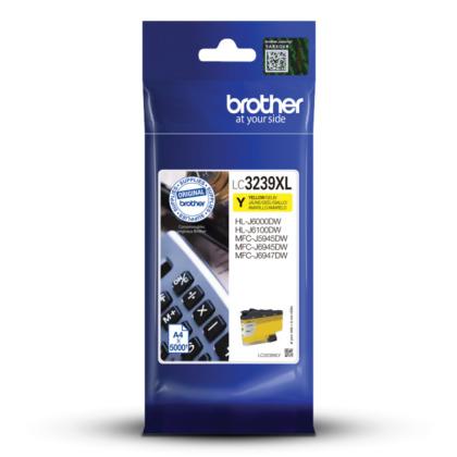 Originální cartridge Brother LC-3239XL Y (Žlutá)