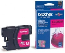 Originální cartridge Brother LC-980M (Purpurová)