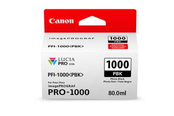 Originální cartridge Canon PFI-1000PBK (Foto černá)