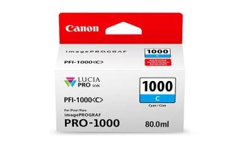 Originální cartridge Canon PFI-1000C (Azurová)