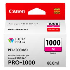 Cartridge do tiskárny Originální cartridge Canon PFI-1000M (Purpurová)