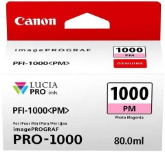 Cartridge do tiskárny Originální cartridge Canon PFI-1000PM (Foto purpurová)