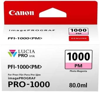Originální cartridge Canon PFI-1000PM (Foto purpurová)