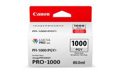 Cartridge do tiskárny Originální cartridge Canon PFI-1000PGY (Foto šedá)