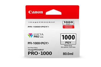 Originální cartridge Canon PFI-1000PGY (Foto šedá)