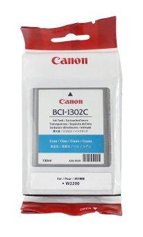 Originální cartridge Canon BCI-1302C (Azurová)
