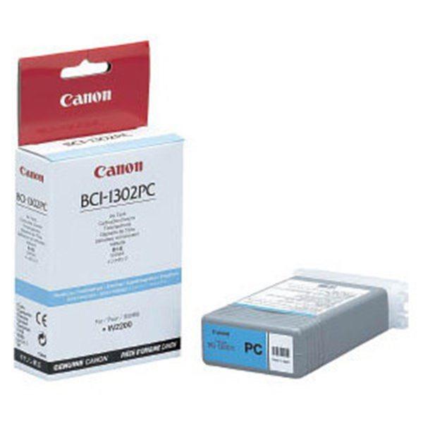 Originální cartridge Canon BCI-1302PC (Foto azurová)