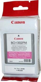 Originální cartridge Canon BCI-1302PM (Foto purpurová)
