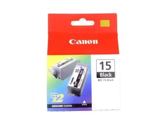 Originální cartridge Canon BCI-15Bk (Černá)