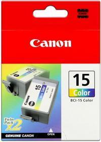 Originální cartridge CANON BCI-15C (Barevná)