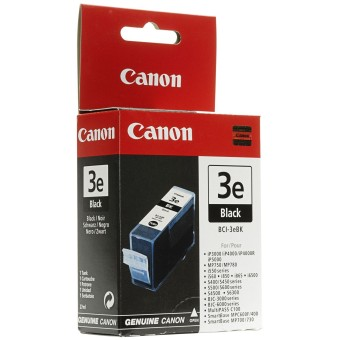 Originální cartridge Canon BCI-3eBK (Černá)