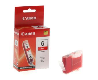 Originální cartridge Canon BCI-6R (Červená)