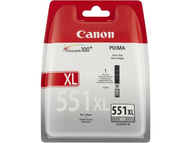 Originální cartridge Canon CLI-551GY XL (Šedá)