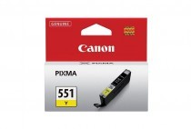 Originální cartridge Canon CLI-551Y (Žlutá)