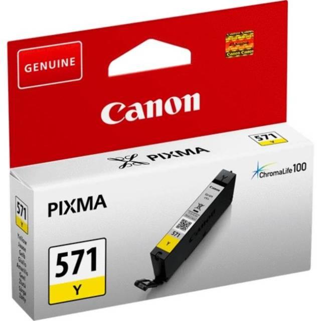 Originální cartridge Canon CLI-571Y (Žlutá)
