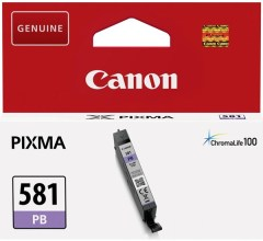 Cartridge do tiskárny Originální cartridge Canon CLI-581 PB (Foto modrá)