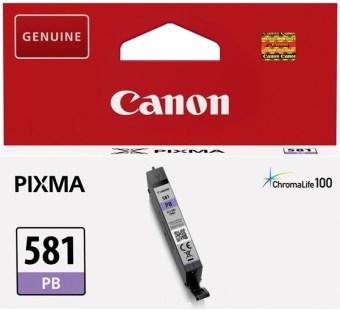 Originální cartridge Canon CLI-581 PB (Foto modrá)