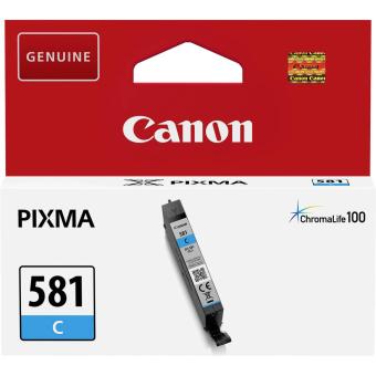 Originální cartridge Canon CLI-581 C (Azurová)