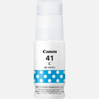 Originální lahev Canon GI-41 C (Azurová)
