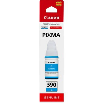 Originální lahev s inkoustem Canon GI-590 C (Azurová)